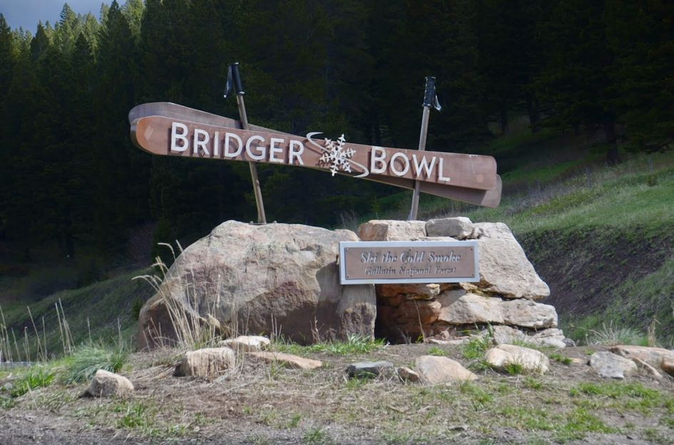 Bridger bowl sign