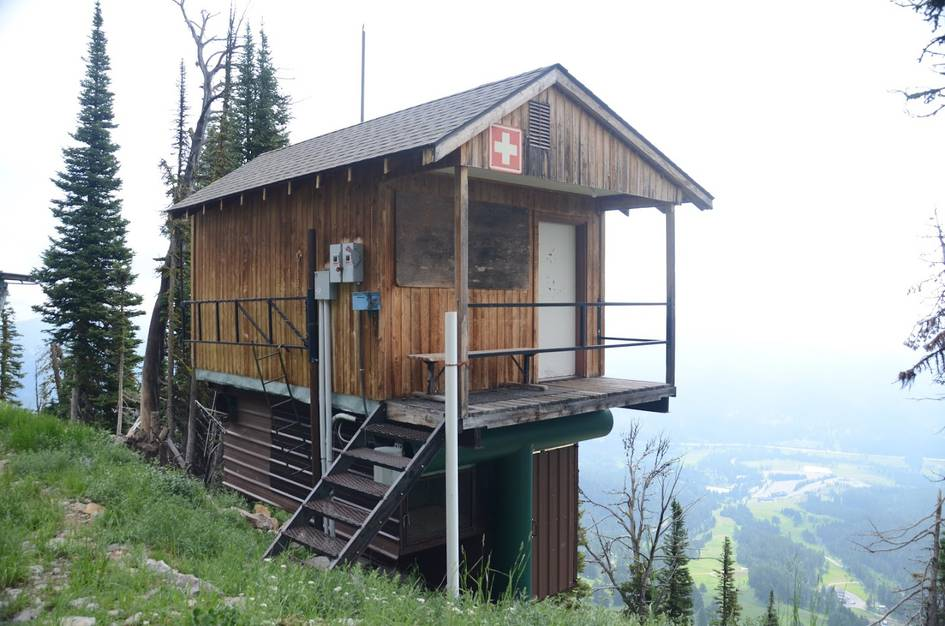 Bridger ski patrol station