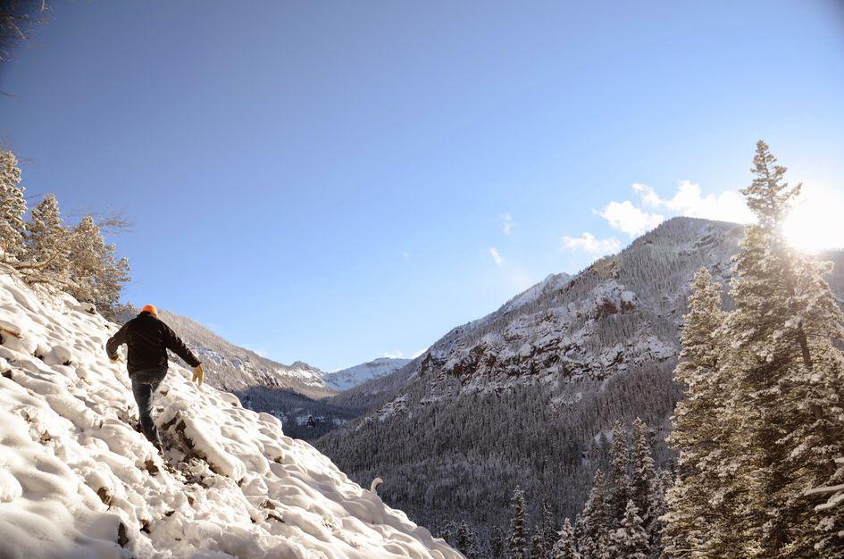Palisade Falls Hikes Montana Trail Briefs